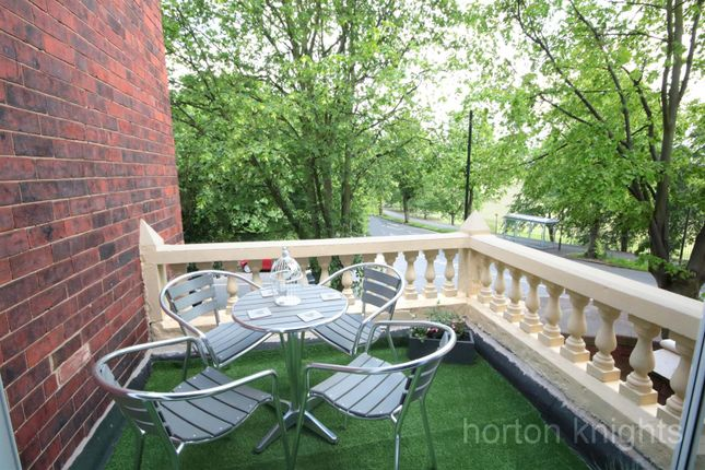 Balcony of Victorian Crescent, Doncaster DN2