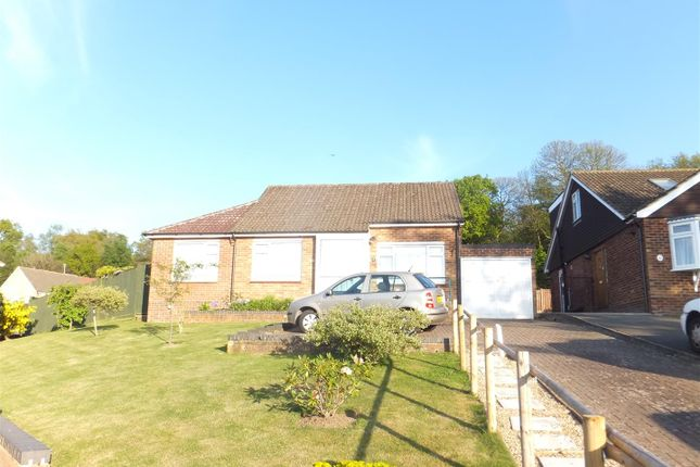 Thumbnail Bungalow for sale in Normanhurst Road, Borough Green, Kent