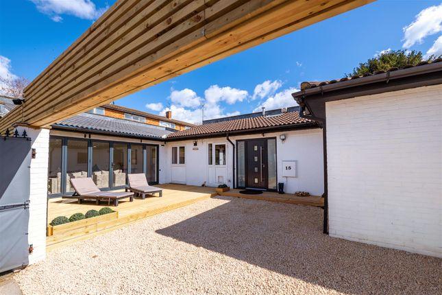 Thumbnail Detached bungalow for sale in Courtlands Avenue, London