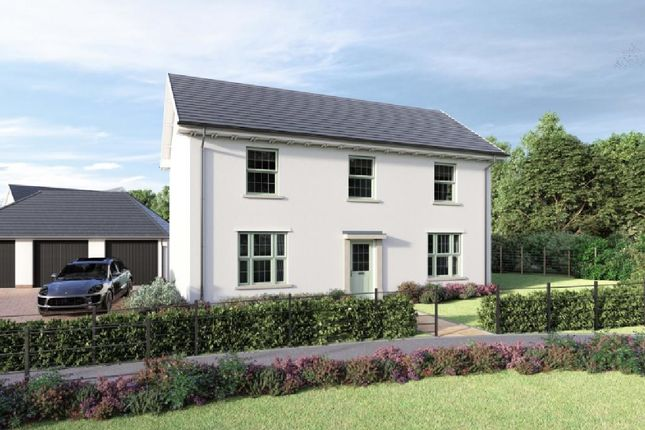 Thumbnail Detached house for sale in Lucombe Park, Uffculme, Cullompton