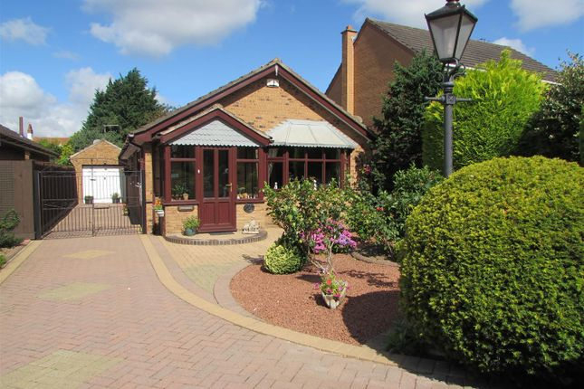 Thumbnail Detached bungalow for sale in Forrester Close, Cosby, Leicester