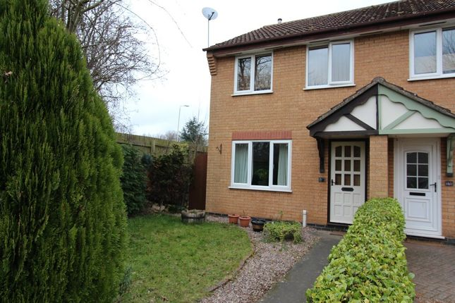 Thumbnail Semi-detached house to rent in Plover Close, Oakham