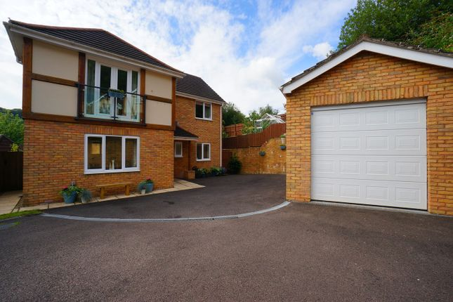 Thumbnail Detached house for sale in Woodside Walk, Cross Keys, Newport