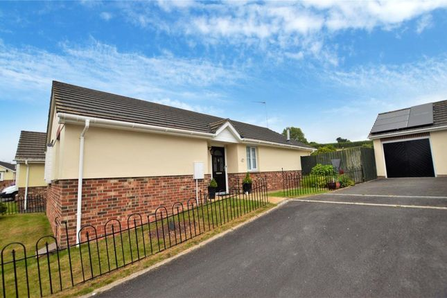 Thumbnail Detached bungalow for sale in Taylors Field, North Tawton, Devon
