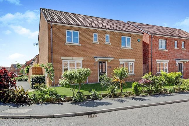 Thumbnail Detached house for sale in Earlsmeadow, Shiremoor, Newcastle Upon Tyne