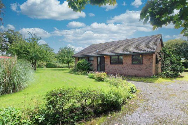 Thumbnail Detached bungalow for sale in Mill Lane, Malpas, Cheshire