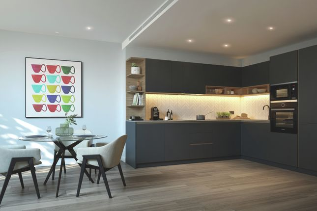 Kitchen CGI of Glenthorne Road, Hammersmith W6