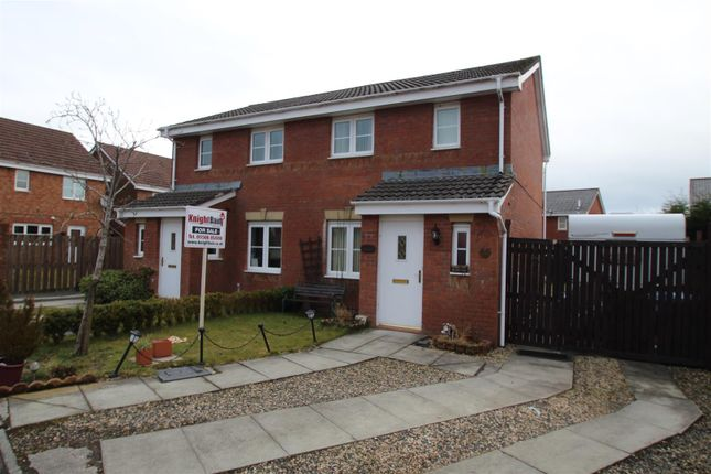 Thumbnail Semi-detached house for sale in Cricketfield Place, Armadale, Bathgate