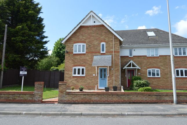 Thumbnail Semi-detached house for sale in High Street, Halling, Kent