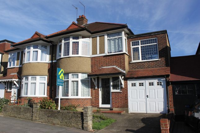 Thumbnail Semi-detached house for sale in Broadmead Road, Woodford Green