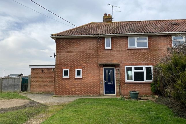 3 bed semi-detached house for sale in 5 Upland Terrace, Norwich Road, Denton, Harleston, Norfolk IP20