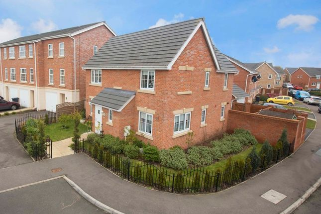 Thumbnail Detached house for sale in Starling Close, Corby