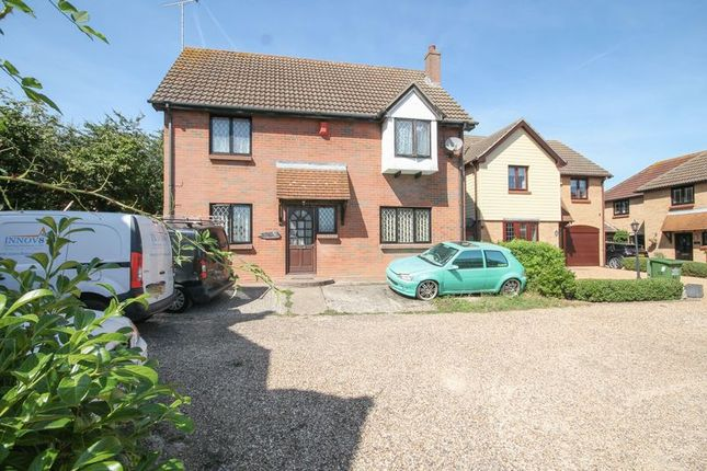 Thumbnail Detached house for sale in The Badgers, Langdon Hills, Basildon