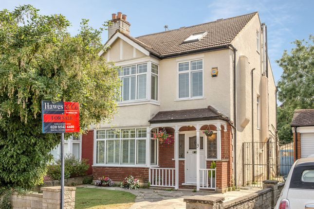 Thumbnail Semi-detached house for sale in Keswick Avenue, Merton Park