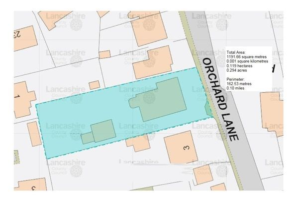 Land Plot of Orchard Lane, Preston PR4