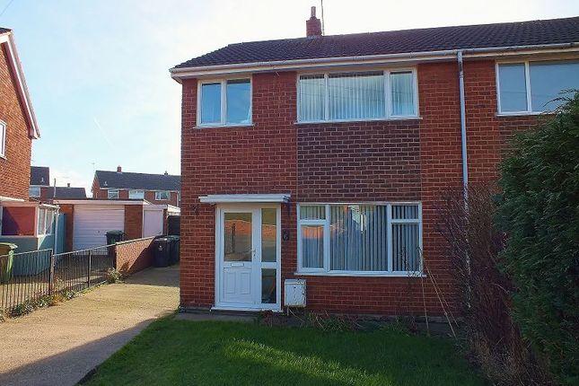 Thumbnail Semi-detached house to rent in Ffordd Gryffydd, Llay, Wrexham