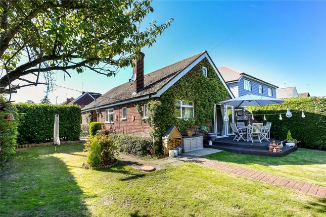 Thumbnail Detached bungalow for sale in Florence Road, Fleet, Hampshire