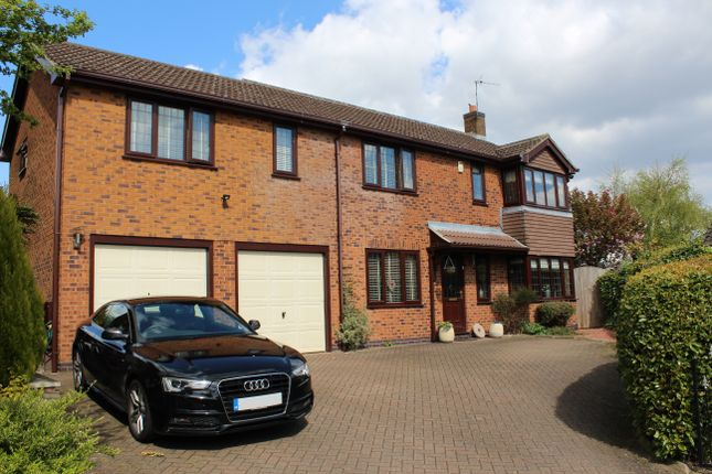 Thumbnail Detached house for sale in Kiln Close, West Hallam