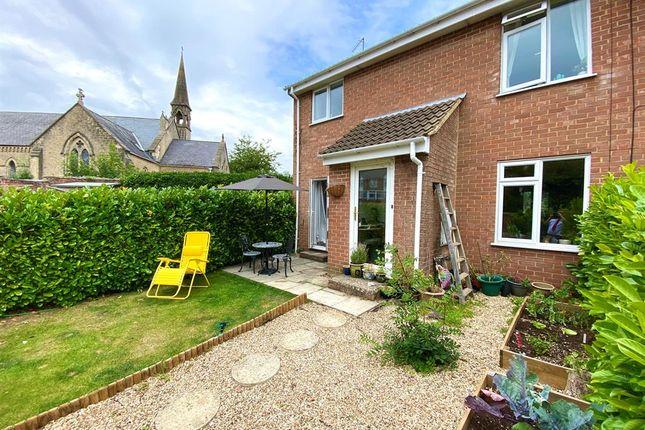 Thumbnail Semi-detached house for sale in Reine Barnes Close, Woodmancote, Dursley