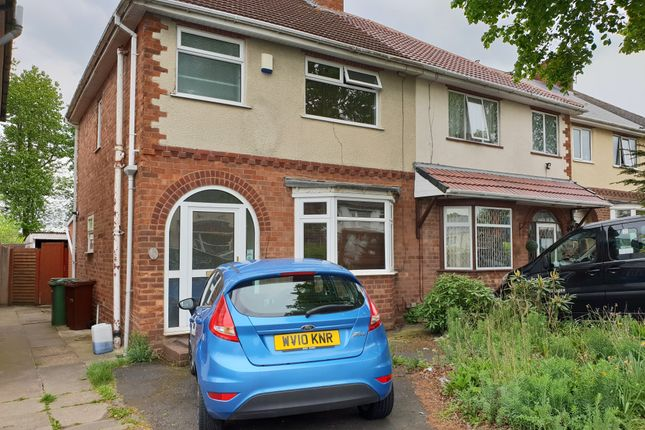 Thumbnail Semi-detached house to rent in Pinfold Lane, Wolverhapton