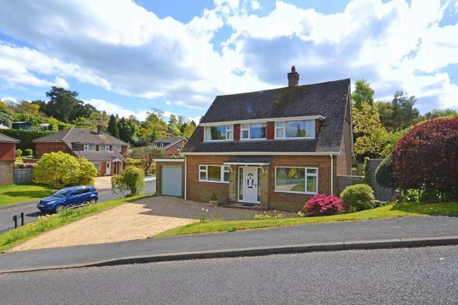 Thumbnail Detached house for sale in Downside, Beacon Hill, Hindhead