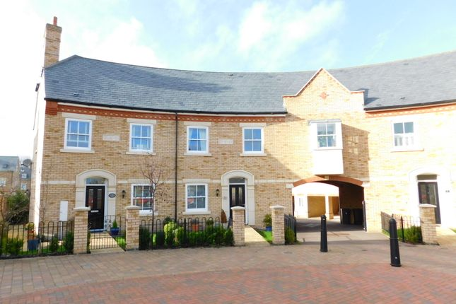 3 bed terraced house to rent in Hardy Way, Fairfield, Hitchin SG5