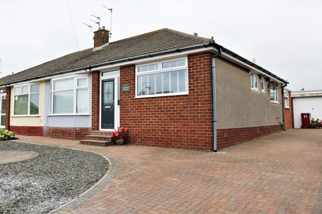 Thumbnail Semi-detached bungalow for sale in Greystoke Gardens, Barrow-In-Furness
