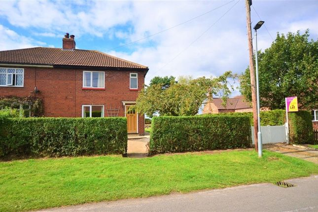 Thumbnail 3 bed semi-detached house to rent in Common Road, Skipwith, Selby