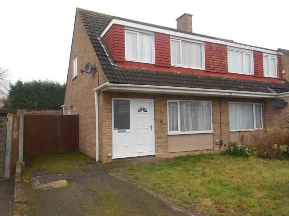 Thumbnail Semi-detached house for sale in Harrington Drive, Bedford, Bedfordshire