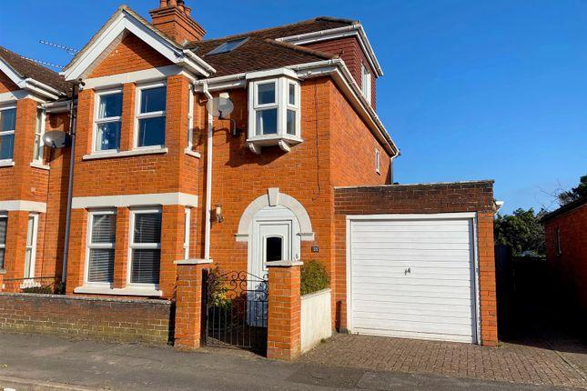 Thumbnail Semi-detached house for sale in Enborne Grove, Newbury