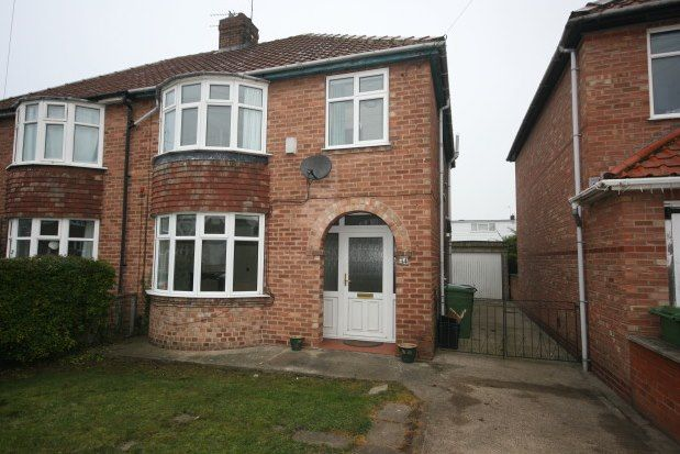 Thumbnail Semi-detached house to rent in Florence Grove, York