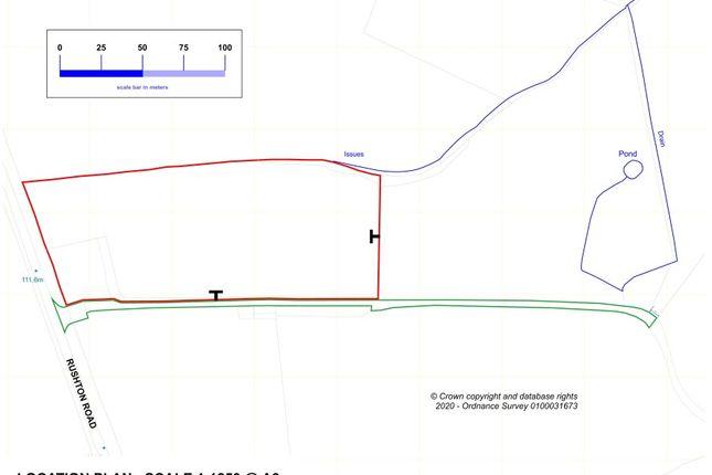 Plot 1 Springfield Farm, Rushton Road, Kettering, Northamptonshire NN14