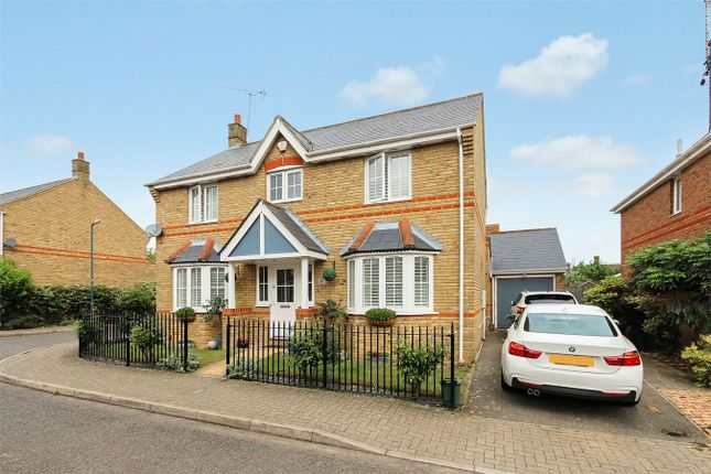 Thumbnail Detached house for sale in Daphne Close, Great Notley, Essex