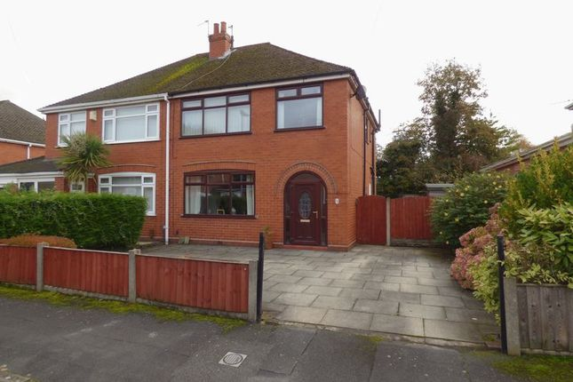 Thumbnail Semi-detached house for sale in Upton Drive, Peneth, Warrington