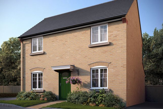 """Thumbnail Detached house for sale in """"The Deeping"""" at Bedford Road, Great Barford, Bedford"""