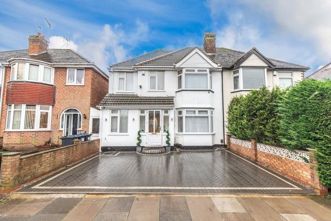 Thumbnail Semi-detached house for sale in Bradstock Road, Kings Norton, Birmingham, West Midlands