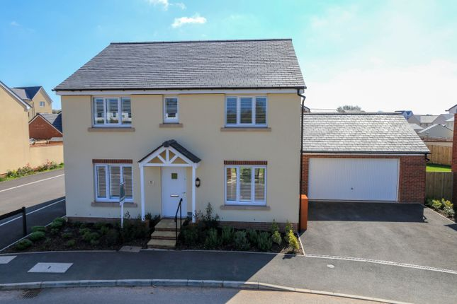 Thumbnail Detached house for sale in Crannaford Lane, Cranbrook, Exeter