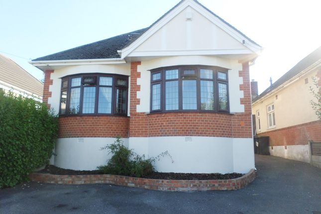 Thumbnail Bungalow to rent in Wakefield Avenue, Bournemouth