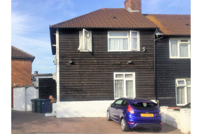 Thumbnail Semi-detached house for sale in Gervase Road, Edgware