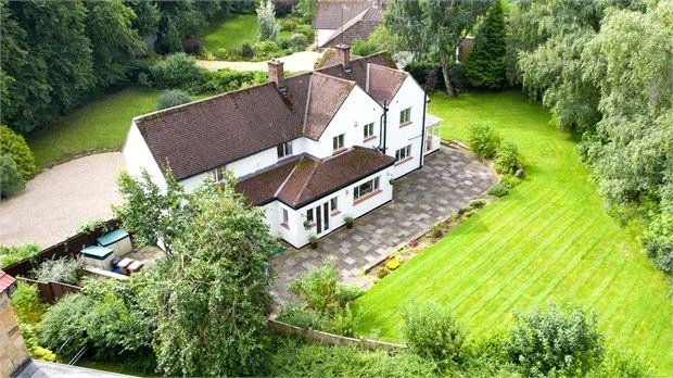 Thumbnail Detached house for sale in Cade Hill Road, Stocksfield, Northumberland