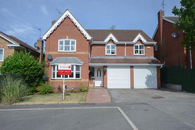 Thumbnail Detached house for sale in Fairburn Croft Crescent, Barlborough, Chesterfield