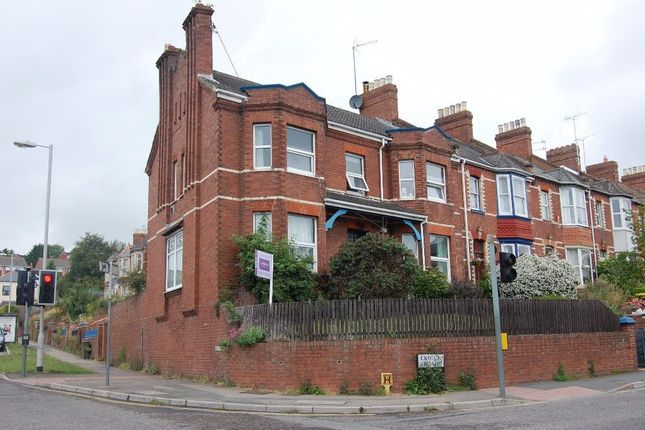 Thumbnail End terrace house to rent in Exwick Road, Exeter