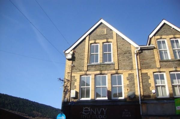 Thumbnail Maisonette to rent in Church Street, Abertillery