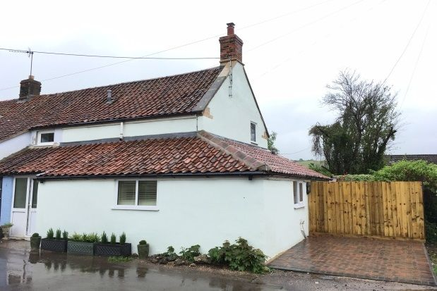 Thumbnail Cottage to rent in Knowle Lane, Wookey, Wells
