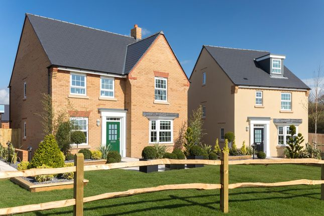 "Thumbnail Detached house for sale in ""Holden"" at Priorswood, Taunton"