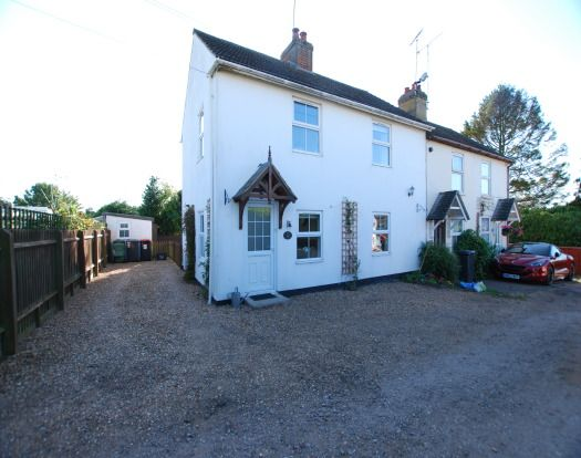 Thumbnail End terrace house to rent in Lanes End, Heath And Reach, Leighton Buzzard