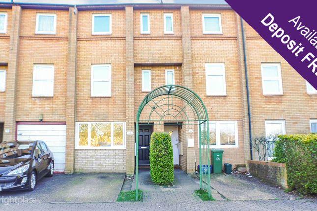 Thumbnail Terraced house to rent in Kernow Crescent, Fishermead, Milton Keynes