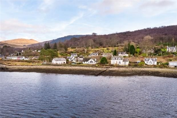 Thumbnail Detached house for sale in Arkaig, Shore Road, Strachur, Argyll And Bute