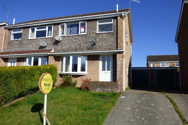 Thumbnail Semi-detached house to rent in Stuart Avenue, The Danes, Chepstow