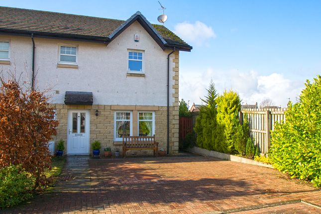 Thumbnail Semi-detached house for sale in Burns Way, Dunlop